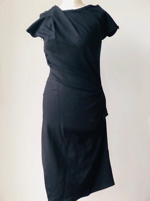 Mary Portas black dress