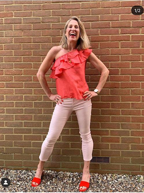 Pink Kaleidoscope Jeans