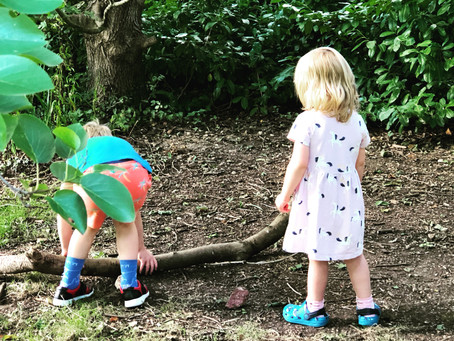 'Playing in nature helps improve socialisation, as well as problem-solving and creativity'