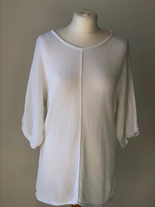 White tunic jumper