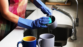 WAKE UP. WASH UP! Why doing housework couldhelp cut stress and anxiety