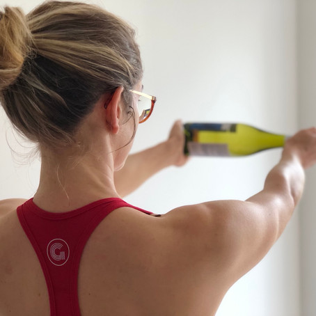 WINE WORKOUTS: For when we couldn't feel any LESS like getting our sweat on