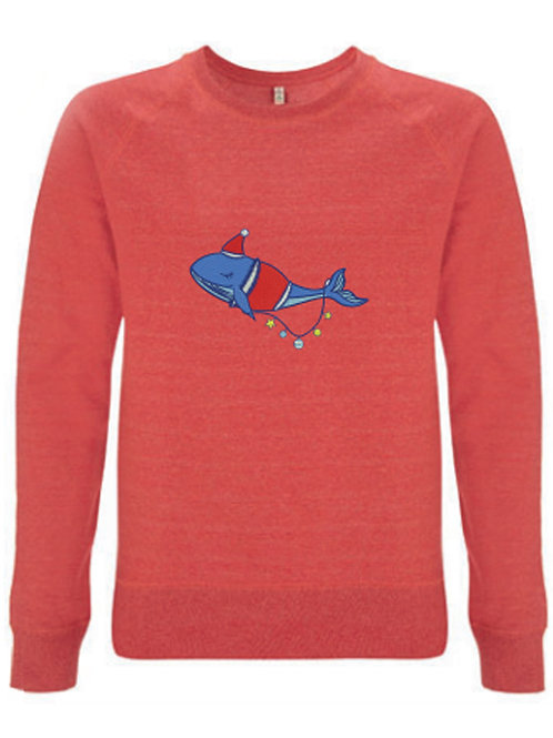 'Whale of a Christmas' Sustainable Christmas Jumper