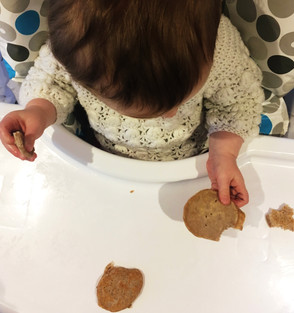 Recipe: Baby wholemeal blinis