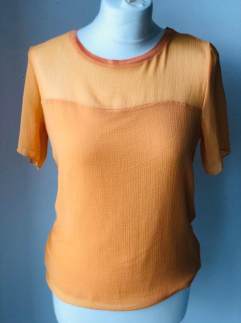 Orange short sleeve top