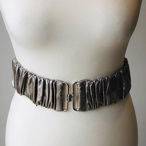 Mango metalic waist belt