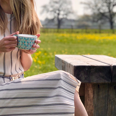 'A hot drink might actually help keep us COOL when temperatures are soaring'
