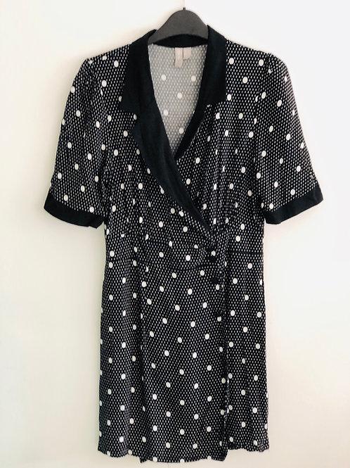 Spot mini dress