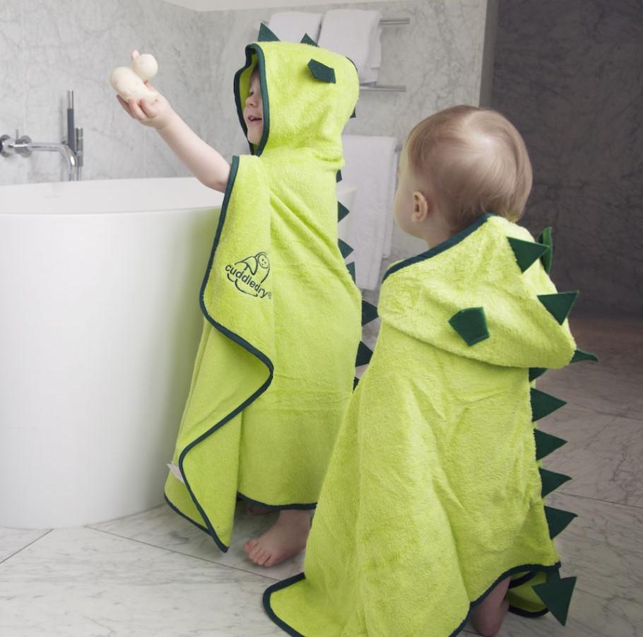 Hooden bath towel