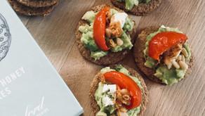 Avocado oatcakes