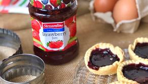 HAPPINESS IS...jam tarts and bottomless tea?