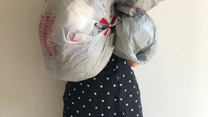 How many bags?! With bag recycling schemes on pause... THIS is the result!