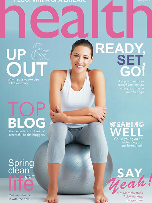 Health Magazine spring 2018 print copy