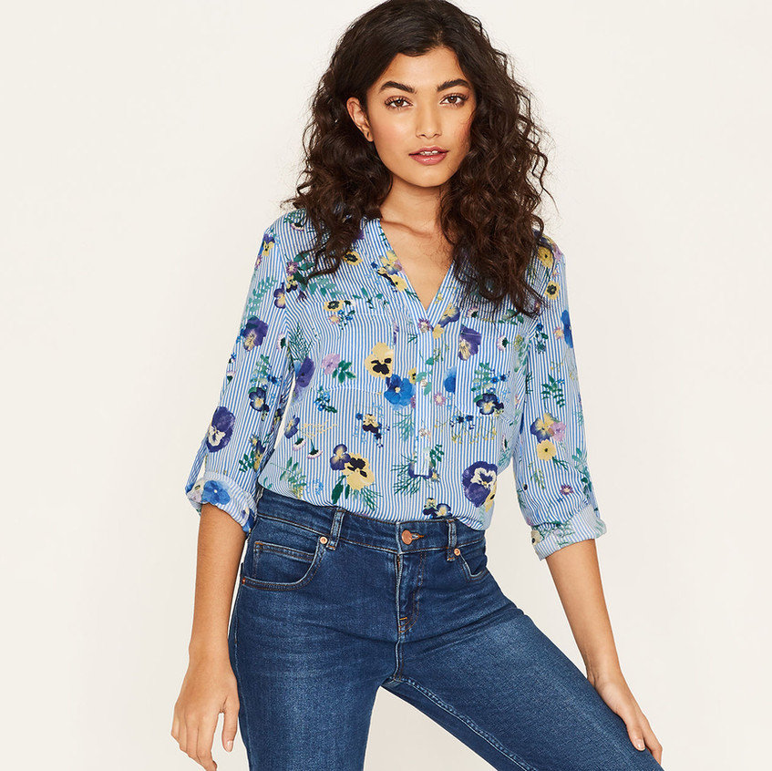 Pressed Flower Shirt