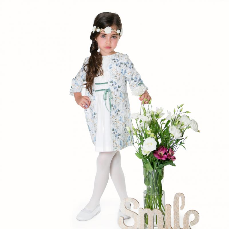 Grecian floral dress