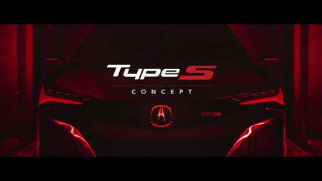 ACURA - Type-s concept Re:born