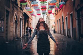 Umbrellas in Pietrasanta