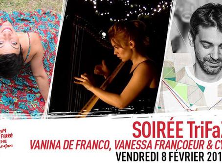 Soirée TriFaZé #9 au Forum Léo Ferré, le 8 février à Ivry-s/-Seine