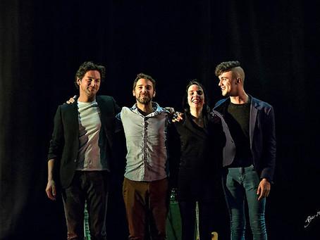 Langeais : 2eme prix du disque et prix du public lors des Nuitées Vagabondes !