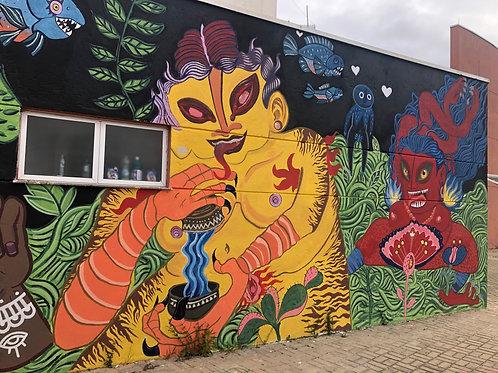 Mural encomendado / to order mural
