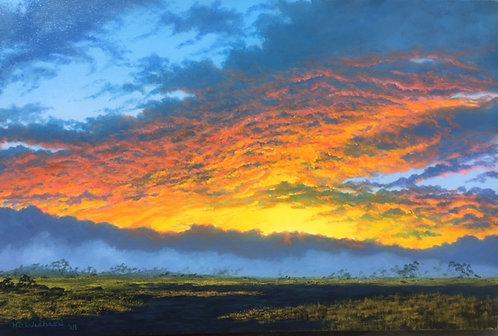 """""""Saddle road sunrise"""""""