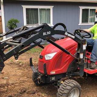Matt operating heavy machinery