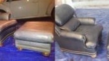 Leather Furniture Color Repair and Restoration in St. Louis, Missouri