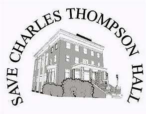 Save Charles Thompson Hall Logo