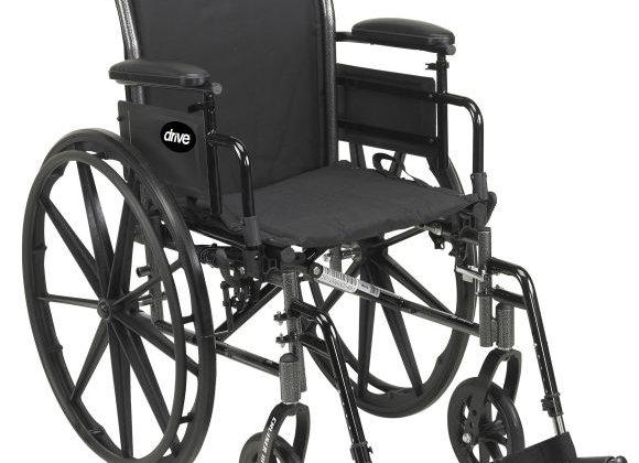 Wheelchair Lightweight, Dual Axle Wheel