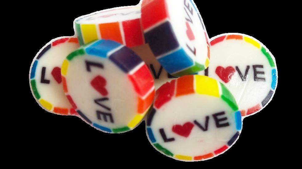 Rainbow Love sweets for weddings gay pride #LGBTQ