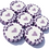 Lilac and Purple Bride & Groom wedding favour rock sweets