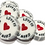 Silver Love Is All You Need wedding favour rock sweet