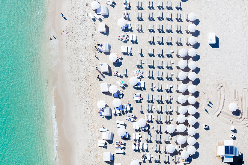 Miami Beach - White II