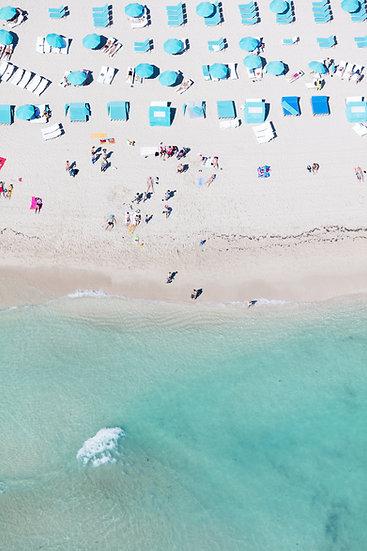 South Beach - Light Blue I