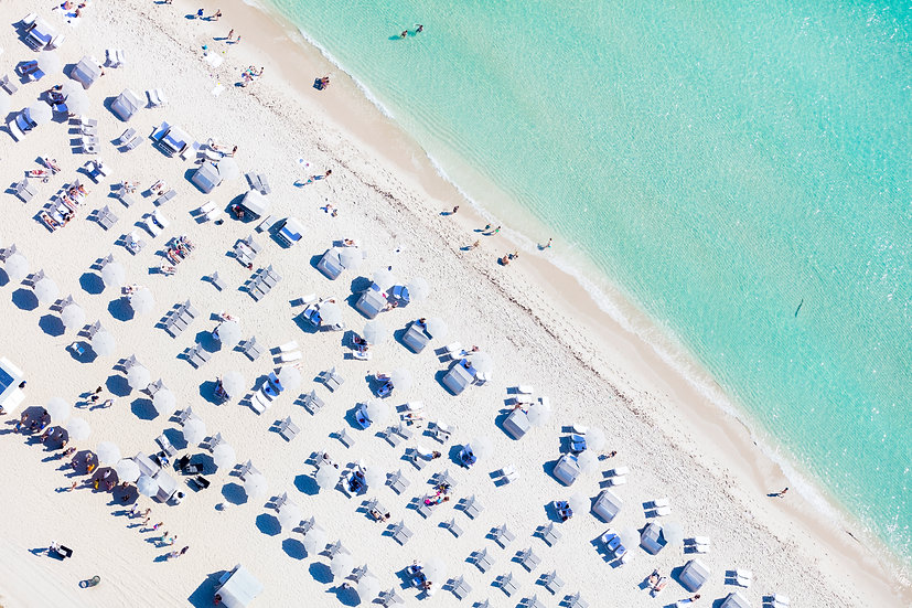 Miami Beach - Grey I
