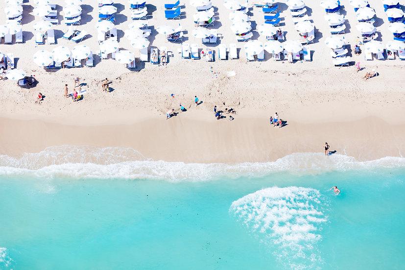 Miami Beach - White I