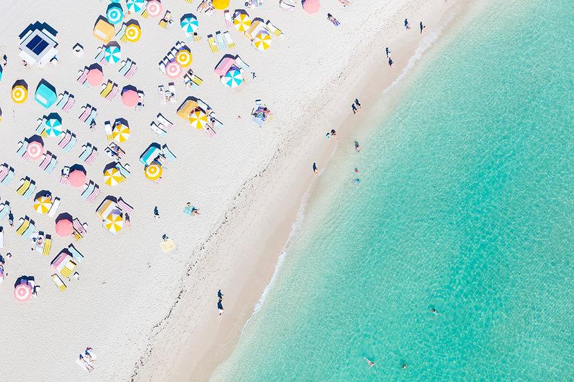 Miami Beach - Pastels I