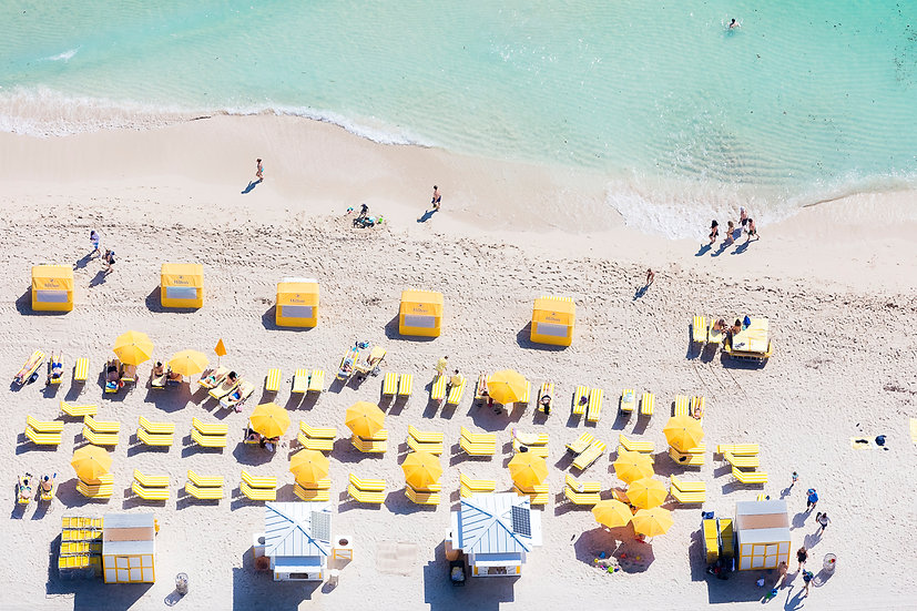 Miami Beach - Yellow III