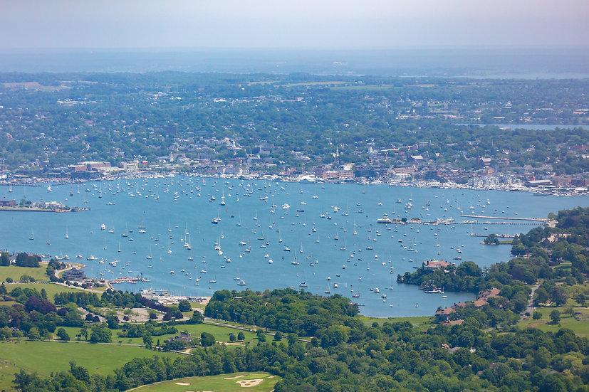 Rhode Island - Newport Harbor X