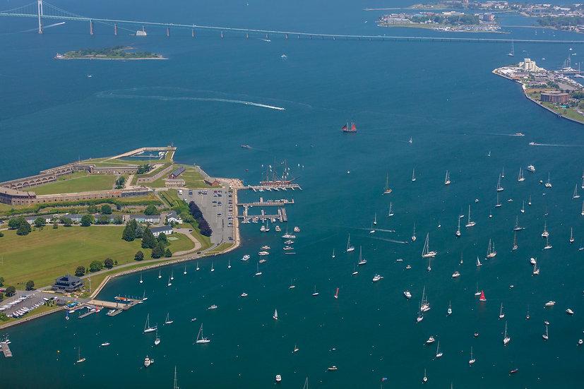 Rhode Island - Newport Harbor VII