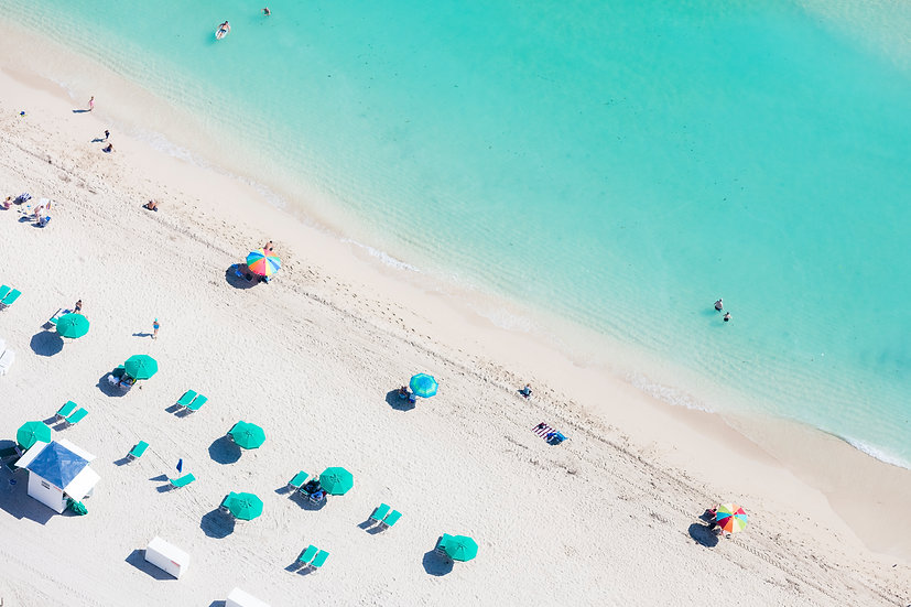 Miami Beach - Seafoam I