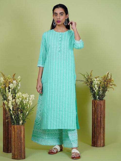 Chacha's 101905 printed cotton kurta set