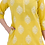 Thumbnail: Chacha's 101728 glitter print cotton kurta set