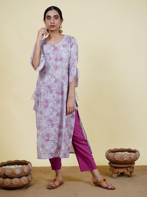 Chacha's 101917 printed cotton kurta set