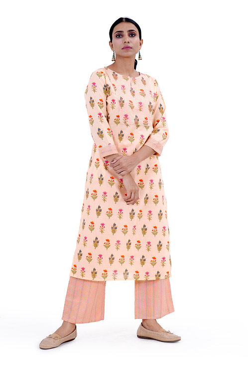 Chacha's101721 Kurta set with palazzo pants
