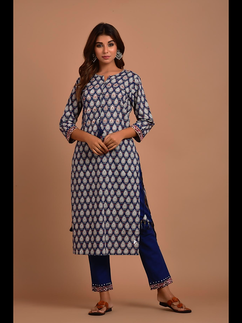 Chacha's 101859 cotton kurta set