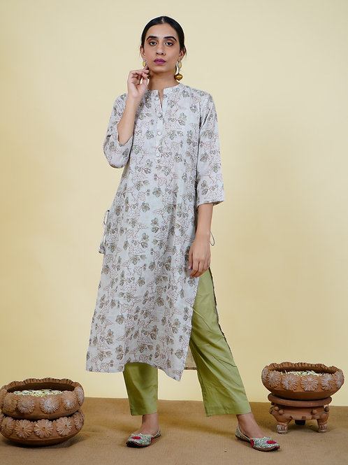 Chacha's 101919 printed cotton kurta set.