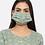 Thumbnail: Chacha's171052 Printed kurta palazzo set and face mask