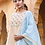 Thumbnail: Chacha's 101879 muslin silk kurta set with dupatta