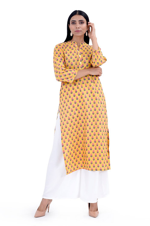 Chacha's120013 printed cotton kurta for casual/work wear